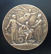 BRONZE MEDAL WITH SMITH AND FAMOUS VIKING / ESTO VIR / M61