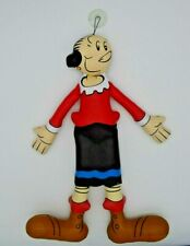 """King Features Syndicate Popeye Olive Oyl 15"""" Faux Leather Doll with Suction Cup"""