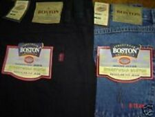 BIG SIZE MENS BOSTON STRONG WORK CASUAL LARGE JEANS  58  INCH WAIST FULL FIT NEW