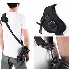 Black Quick Rapid Camera Single Shoulder Sling Neck Strap Belt for Digital DSLR