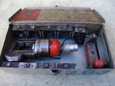 THOMAS BETTS 12 TON HYDRAULIC CRIMPER LOADED WITH DIES WORKS FINE #1