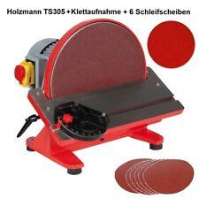 Holzmann TellerschleifmaschineTS305 750W + Haftklettaufnahme + Schleifset 6tlg