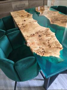 Maple Bar top epoxy We make custom acacia wood epoxy table luxury resin table