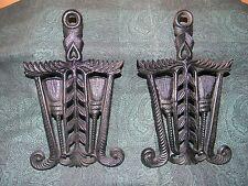Cast Iron Trivets Pair (2) Identical