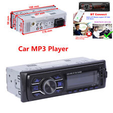 Car Stereo Audio Radio MP3 Player Single 1 Din Bluetooth FM/SD/TF AUX Input USB