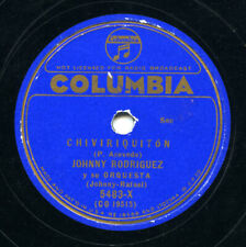 CUBA - Johnny Rodriguez and orchestra on Columbia, 1936