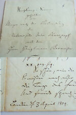 Gedicht Lanken (ELMENHORST) 1804 zur Hochzeit BACMEISTER - SCHWARTZKOPF, 10 S.