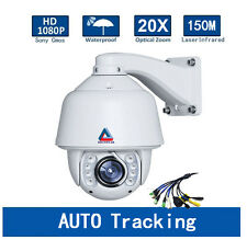 20X Zoom Auto Tracking SONY CMOS HD 1080P Outdoor PTZ IP Camera Hikvision Module