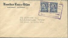 COLUMBIA 1926 COVER TO CHICAGO IL USA FROM GIRARDOT