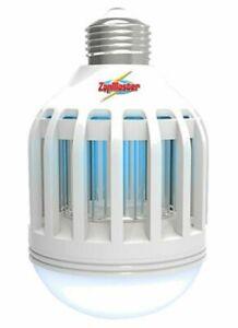 Zap Master ZM400 2 in 1 LED Lightbulb and Bug Zapper, White (4 Pack)