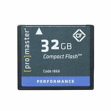 Promaster 32GB CompactFlash Memory Card 500X UDMA (Performance) #1866