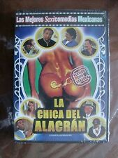LORENA HERRERA Region code1&4 LA CHICA DEL ALACRAN DE ORO RAFAEL INCLAN new