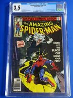 CGC Comic graded 3.5 Amazing Spider man Marvel  #194 1st black cat Key issue