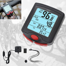 Newly Waterproof Wired Cycling Bike Computer LCD Bicycle Speedometer Odometer