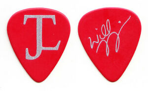 Collective Soul Will Turpin Signature Red Guitar Pick - 2013 Tour