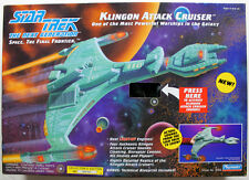 STAR TREK TNG KLINGON ATTACK CRUISER THE NEXT GENERATION  PLAYMATES 1993 MIB
