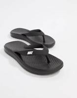 NEW Nike Men's Solay Thong Flip Flops Triple Black 882690 Size 11