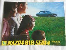 Mazda 616 Sedan Deluxe brochure c1970' English text