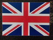 Genuine Military Vehicle Car Sticker Union Jack Flag Emblem Large 21x30 cm UK Ma