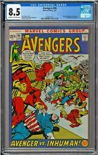 Avengers #95 CGC 8.5 Origin Black Bolt Kree-Skrull War Neal Adams Sal Buscema