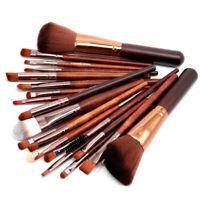 22Pcs Pro Makeup Brushes Set Foundation Blush Eye Shadow Eyebrow Brush Kit Tools