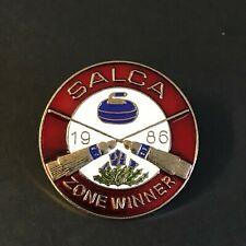 New listing CURLING PIN SALCA 1986 ZONE WINNER