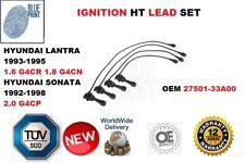 FOR HYUNDAI LANTRA SONATA 2.0 1993-1998 IGNITION HT LEAD SET 27501-33A00