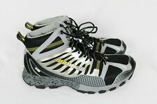 Montrail Mens BADROCK OUTDRY MID Trail Shoes Gray Yellow Sz 12 - Worn 1X! GM2129