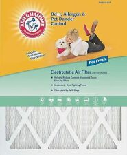 12 x 20 x 1 Arm & Hammer Air Filter, MERV 7 Odor Allergen Pet, 4 Pack