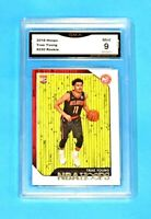 $70.00 Trae Young Rookie Mint 2018 Hoops Atlanta Hawks Basketball Card RC #250