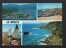 LE BRUSC (83) BATEAU de PECHE , REGATES , VILLAS & CAMPING du GAOU en 1989