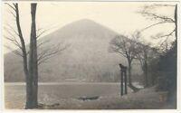 Lake Chuzenji & Nantai-zan from Utagahama Lake - 1920s Japanese Travel Photo