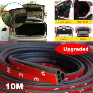 L Shape 10M Seal Strip Car Door Hood Trim Edge Moulding Rubber Weatherstrip