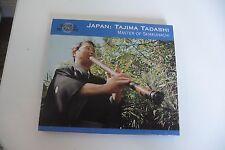 JAPAN JAPON : TAJIMA TADASHI MASTER OF SHAKUHACHI  CD.