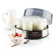 Yogurtera Yoghurt maker Vasos Maquina Preparado Temporizador Por Hora 23,5x12x24