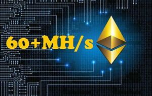 Ethereum Mining BIOS MOD 60+MH/s Radeon RX 5600 5700 xt with Downvolting