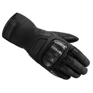 Gants de Moto Avec Protections SPIDI les Câbles Evo H2OUT Noir