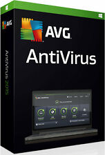 AVG Antivirus Version 2017 for 3 Pcs or Laptops & for 1 YR Clearance