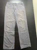 Mountain Hardwear Mens Gray Flat Front Hiking Outdoor Pants Size 30/32 B11