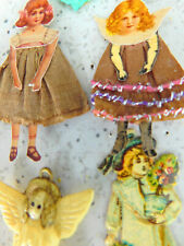 Vintage Paper Dolls And Angels