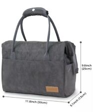 Insulated Lunch Bag Box Women Men Kids Tote Travel Food Hot Cold Bag