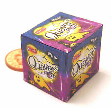 1:12th Closed Empty Quavers Snack Box Dolls House Miniature Shop Accessory