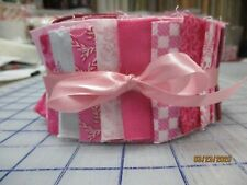 Awesome Shades Of Pinks Jelly Roll For Quilters