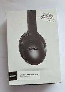 Bose QuietComfort 35 Series II Wireless Headphones Black Bluetooth Noise cancel