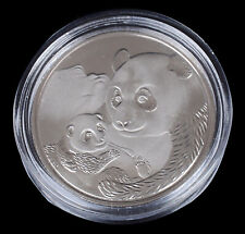 China 2019  15 gram 999 Silver Plated Commemorative Panda coin - Sealed & UNC