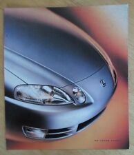 LEXUS SC300 & SC400 Coupe Orig 1994 USA Mkt folleto de ventas