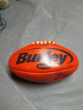 Burley Match Rugby Ball Made In India Leather Red Used