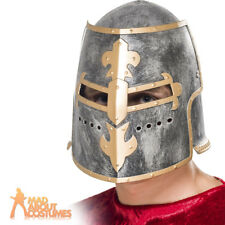 Smiffys Medieval Crusader Helmet With Moveable Face Shield Multicolour 1
