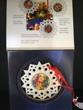 in confezione originale OVP Motivo Winterfreuden pignoni 2018 sfera Campana in porcellana Hutschenreuther