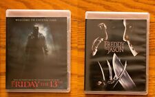Friday the 13th Remake & Freddy Vs Jason Blu Ray Scream Deluxe Collection